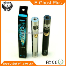 new developed! adjustable voltage 1600mah battery ego twist E-ghost plus battery