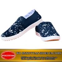 FXY-65 Most popular custom shoes canvas MEN no lace work shoes