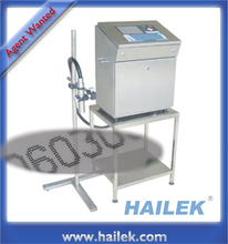 HAILEK 8400W cij inkjet printer white ink coding printing machine coder supplier