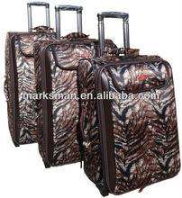 tiger color 3 pcs set luggage