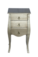 Furniture with 3 drawers European style bedside cabinet in cheap furniture