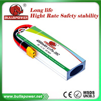Rechargeable Devil 11.1V 4500mAh 20C Rc Helicopter battery lipo