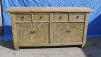 Chinese antique furniture, reproduction antique natural recycle wood cabinet