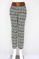 Casual harem pants wholesale pants trousers printed harem trouser pants rayon trousers
