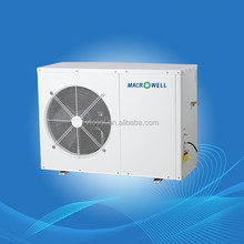 inverter air water heat pump all in one model for house heating and air conditioning