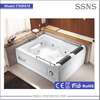 2015 Best sale 2 person sex hot tub with massage function big size