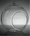 Diâmetro. 10cm venda quente com alta qualidade de vidro de suspensão do suporte de vela