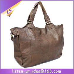 Vintage Soft Portable Large Size Leather Women Shoulder Bag