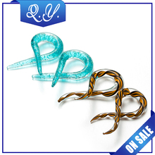 Colorful Glass Spiral Ear Plugs Tunnels Gauges Expander Orelha Pircing Oreja Stretcher Percing Body Pirsing Jewelry