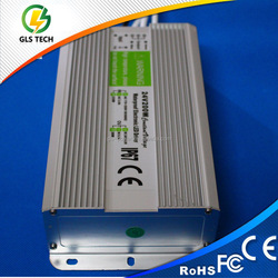 waterproof led power supply 200w, 12v 200w waterproof led driver ip67 with 2 years warranty
