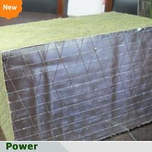 Rotoli di foglio di fronte lana di roccia prezzo lana di roccia e lana di basalto(di fabbrica)