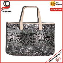 China Manufacture Custom Leopard Print PVC Beach Bag