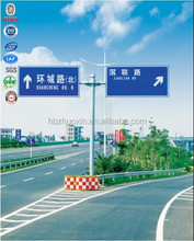 Steel galvanized road direction leading octagonal traffic collapsible delineator post