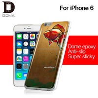 Full protect epoxy color skin for iphone 6 skin case