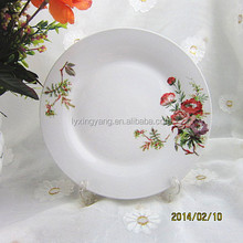 fashion design hotel style fine porcelain dishes, promotion porcelain dishes