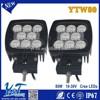 Y&T Square hid xenon headlight 10watt Multifunctional lights LED working lights auto lamps
