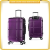 New arrivals ABS luggage bag purple color ABS traveling luggage universal wheel luggage trolley bag