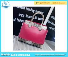 2015 Hot Sell New Korean Style Woman Tote Bags Latest Design Ladies Handbag