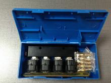 4 cilindros de glp inyectores tren