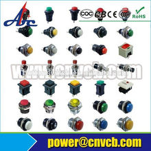 AC 125V/3A 250V/1A N/O SPST Momentary Green Push Button Switch (ON)/OFF3 Pcs AC 125V/3A 250V/1A N/O SPST Momentary Green Push Bu