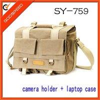 2013 new model canvas Waterproof durable dslr camera case dslr