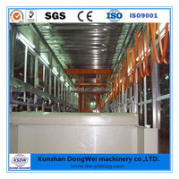 Automatic /Manual anodic oxidation plating line for aluminum plating