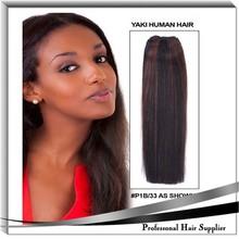 YILU human hair extension 1b 33 hair color