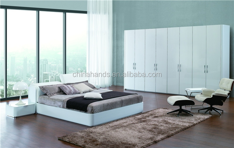 Modern white leather bedroom furniture buy bedroom furniture white