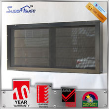 2015 Popular glass blinds aluminum window louver for residential house