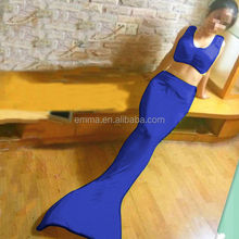 Fashion new fancy dress mermaid costume women's excellent quality mermaid tail swimming on sale BWG-4111