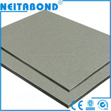 Factory Neitabond decorative exterior wall panel/facade panel/siding for prefab house houses