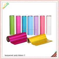 pp material in roll for christmas gift ribbon bow