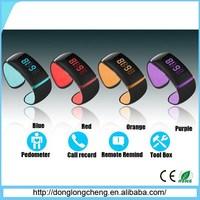 FREE SHIPPING !!! Bluetooth Iring Smart Watch Bracelet Wristband Waterproof Anti-lost Vibrate Call bracelet watch
