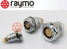 Lemo series B 10 pin metal Connector socket ECG 2B male female PCB type