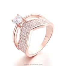 Accessories Woman Jewelry Alibaba China Diamond Engagement Wedding Ring SRG209W