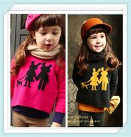 Baby girl clothing o- neck pullover sweater new designs for kid clothes factory in China Children's Clothing kids Apparel 12424