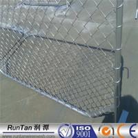 Australia galvanized 6ft Temporary Fence Chain Link Fence / Chain Link Temporary Fence / portable diamond panel fences