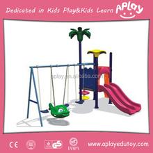Lovely Plastic and Steel Kids Garden Swing Sets