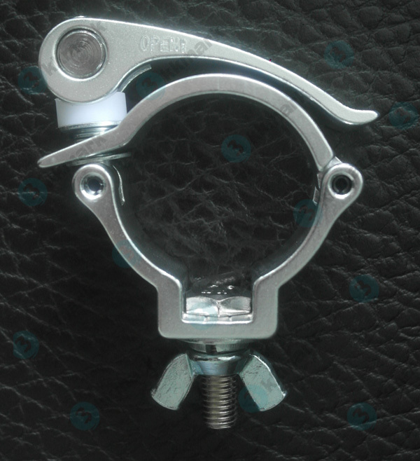 Light duty clamp quick release pipe clamps for truss