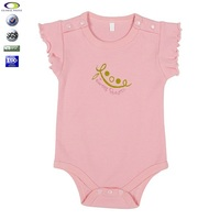 OEM Service Supply Type and 100% Organic Cotton baby clothing