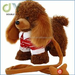 Custom plush electric motor dog / plush electric animal / musical plush dog