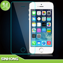 4 Layers 0.2mm Ultra Thin High Transparance Tempered Glass Screen Protector For iPhone 5S