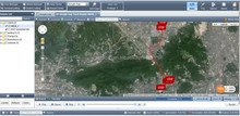 GPS Vehicle Tracking Software for Fleet Management, Online Tracking (TS20)