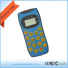 Two way technology 100m transmission eletronic clickers for 400 big meeting