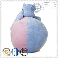 ICTI Factory price New promotion soft plush toy ball