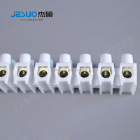 12way different size plastic pluggable strip connector bus bar terminal block