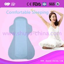 Soft Cotton Surface of Anion Sanitary Napkins