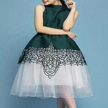 2015 OEM night dress for party,pattern flower girl dress for evening dress