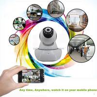 H.264 1280x720 PTZ Wireless WiFi IP Camera with Micro SD Card Slot,I/O Terminal,Night Vision