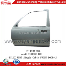 High Quality Steel Front Door LH For Toyota Hilux Pickup Single Cab RN85